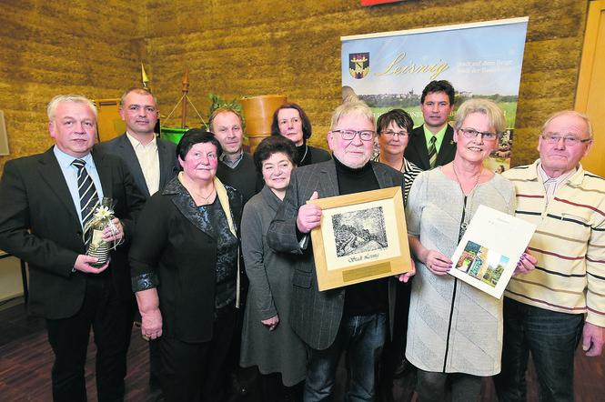 Auszeichnung für das Kloster Buch - Neujahrsempfang Stadt Leisnig 2019 | Foto: André Baun, Döbelner