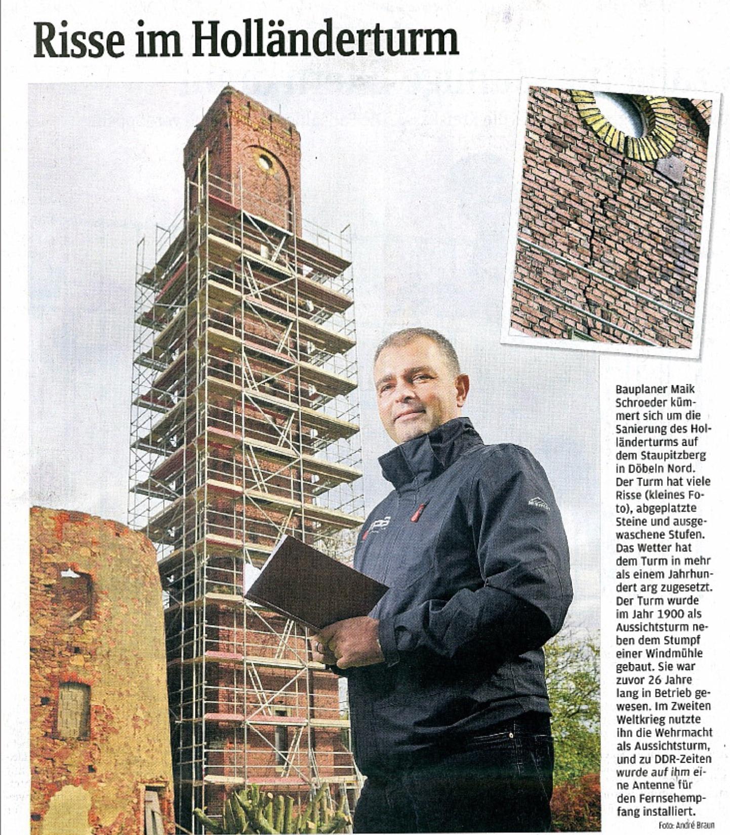 Döbelner Anzeiger 12.10.2017 - Holländerturm_BPS architektur