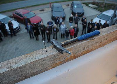 Der letzte Nagel | Foto: Autohaus Schmidt