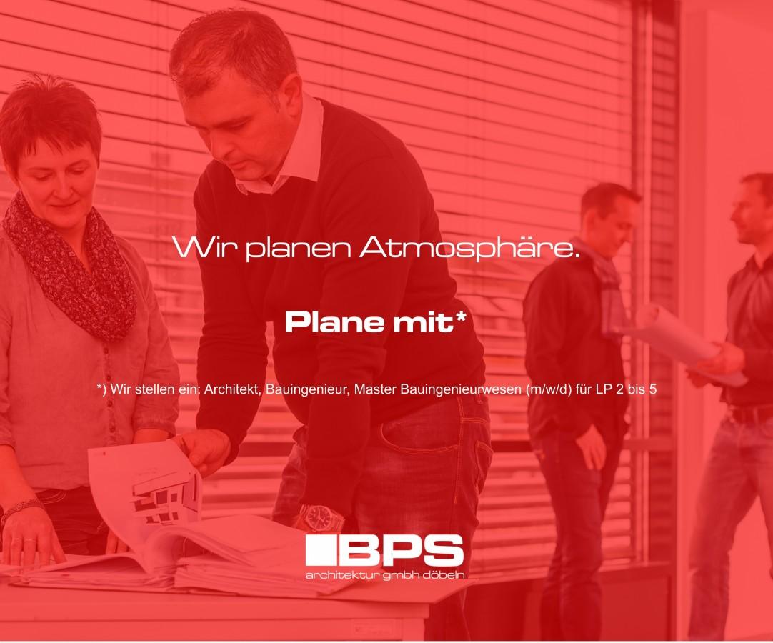 Werde Teamplayer der BPS architektur gmbh