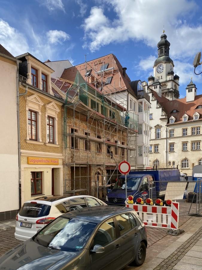 Rohbau mit neuer Dachgaube | Foto: BPS architektur